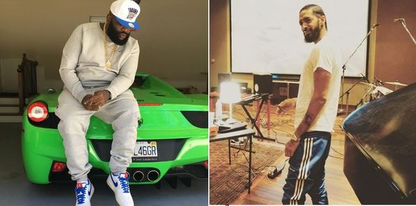 Rick Ross Puts Nipsey Hussle's Face In An Odd Place