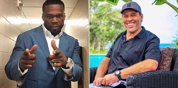 50 Cent Goes In On Tony Robbins Over The Use Of The N-Word