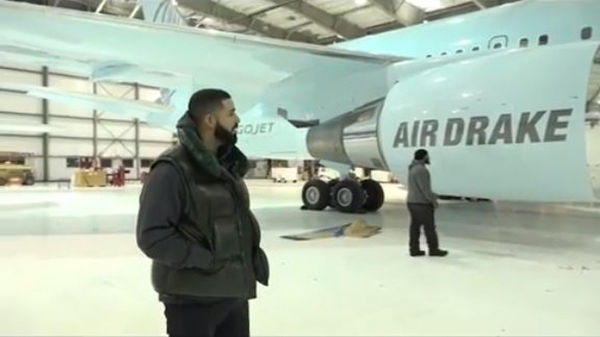 Drake Provides Tour Of His New Private Jet
