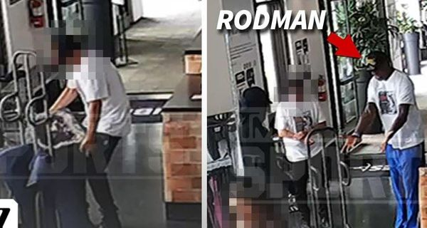 It Looks Like Dennis Rodman Got Caught On Tape Masterminding Heist