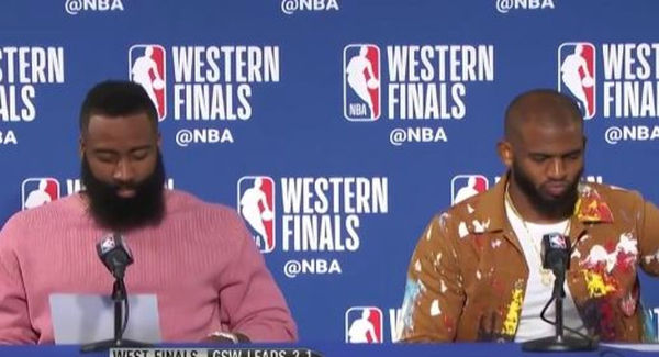 James Harden & Chris Paul Had Verbal Altercation After Game 6 Loss To Golden State