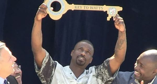 Jay Rock Receives The Key To His Watts Neighborhood