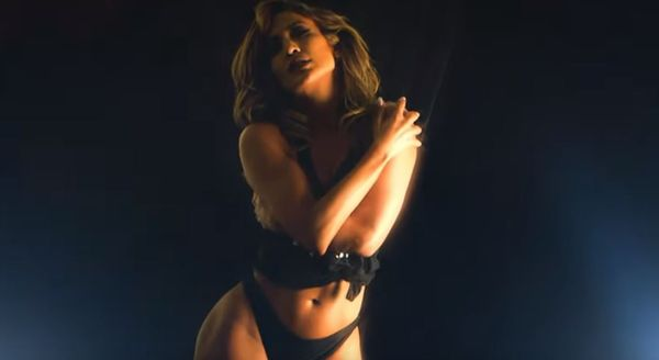 "Jennifer Lopez Hits The Pole In New Video For ""Medicine"""