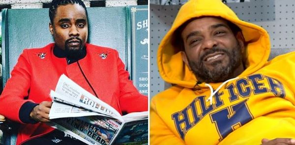 Jim Jones Shades Wale's Sneaker Game & Claims Nike Boots