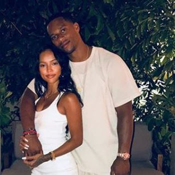 Karrueche's Not Down With The Swimsuit Shot Victor Cruz Posted For Her Birthday
