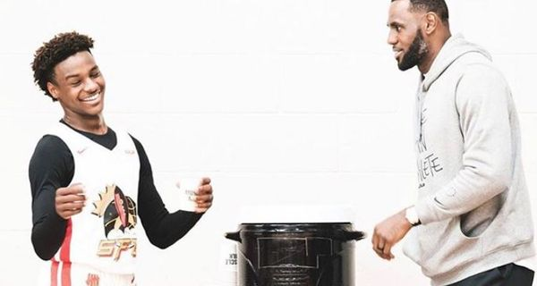 "Lebron James Says He's ""Pulling Up"" On Anyone Dissing His Son On Instagram"