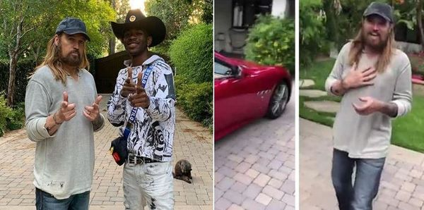 Lil Nas X Just Bought Billy Ray Cyrus A Maserati