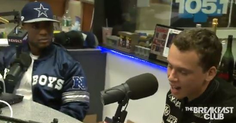 Logic Comes For Charlamagne Tha God On