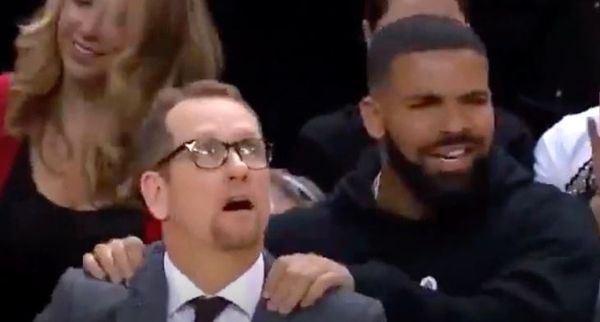 NBA Discussed Drake's Courtside Conduct With the Raptors