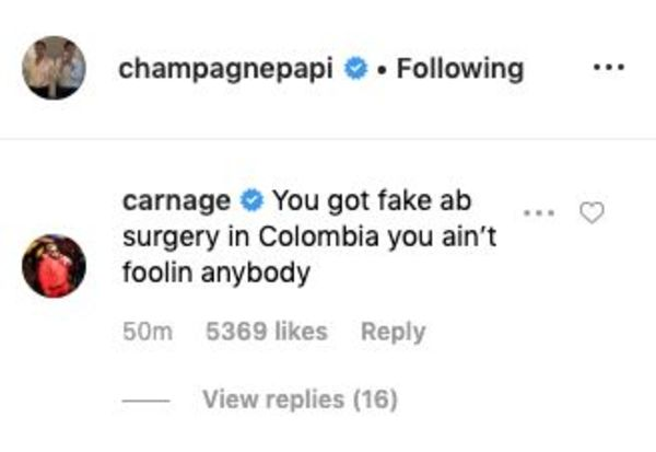 Drake Gets Accused Of Having Fake Ab Surgery In Colombia