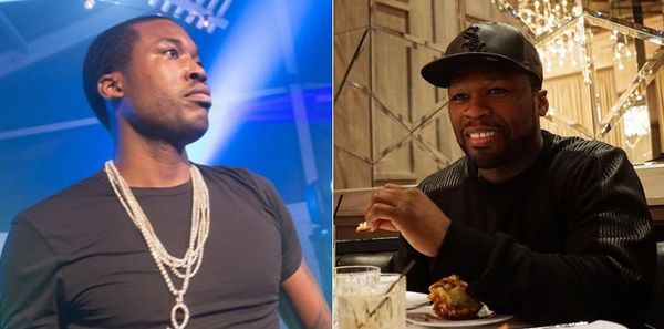 Uh-Oh: Meek Mill Owes 50 Cent's Jeweler Money