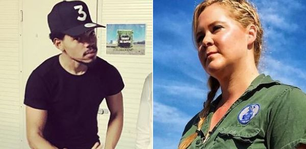 Woke Fight: Amy Schumer Calls Out Chance The Rapper Over Wendy's
