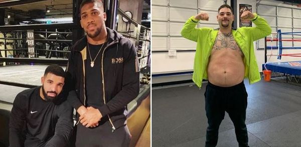Twitter Reacts To Anthony Joshua Getting Upset By Boxer with Non-Traditional Body Type