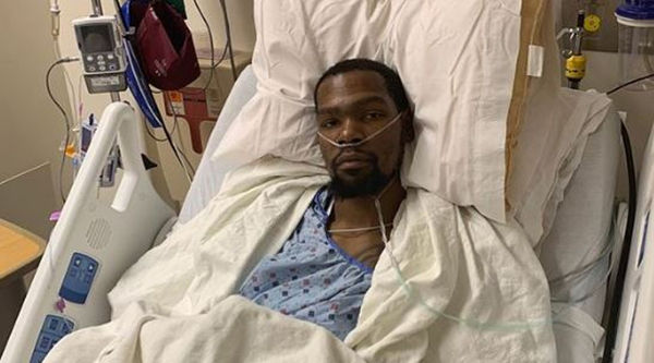 Kevin Durant Updates His Fans After Surgery