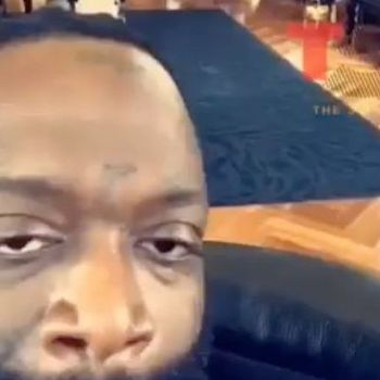 Rick Ross Shows Off His New Hair Style
