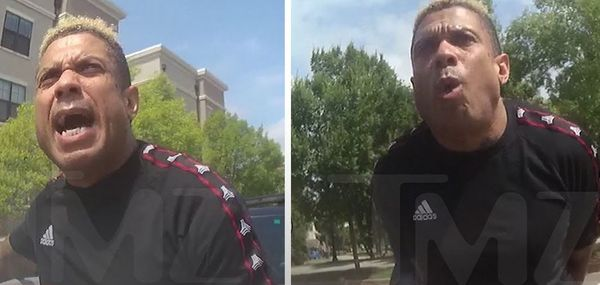 Watch Benzino Go Off on A Female Officer As He's Being Arrested