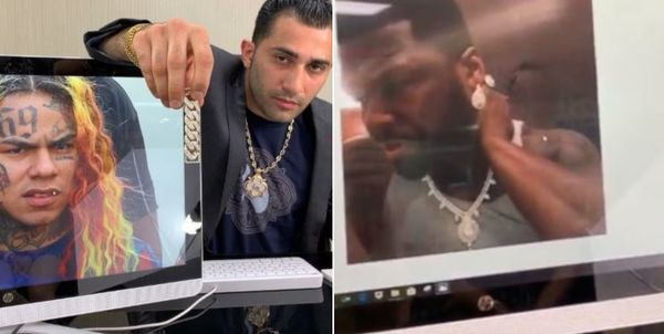 You Can Buy Tekashi 6ix9ine's Jewelry; 50 Cent Outed For Wearing Ladies Bling