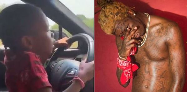 Young Thug May Be In Trouble After Young Daughter Filmed Driving Car
