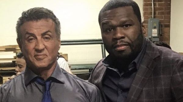 "50 Cent Responds After Sylvester Stallone Called Their Movie Together His ""Worst"""