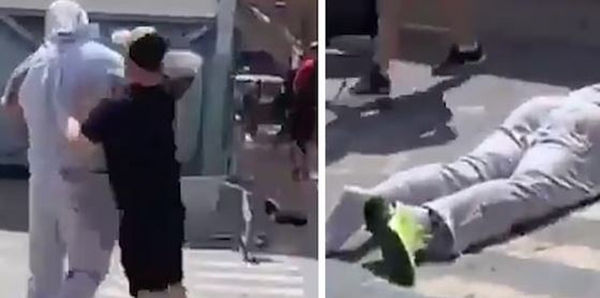 Watch Future's Bodyguard Get Knocked Out Cold In Spanish Airport