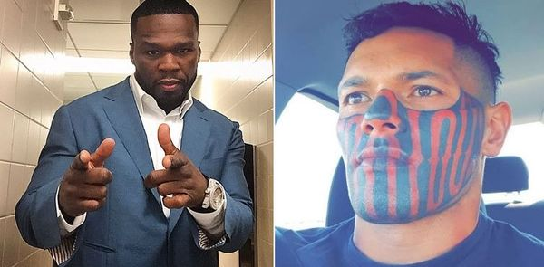 Guy 50 Cent Clowned For Face Tattoo Actually Got a Job