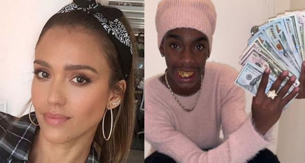 Jessica Alba's Twitter Hacked, Racist & Free YNW Melly Tweets Follow