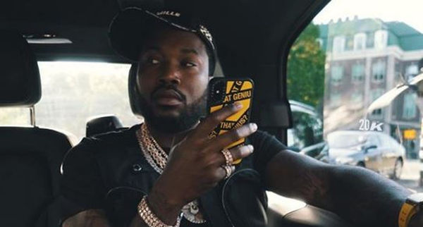 Meek Mill Stunts His Jewelry Collection