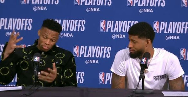 Paul George Tweets On His Opinion Of Russell Westbrook After Surprise Trade