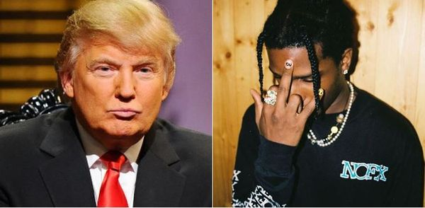 Report: Trump Is Hurting A$AP Rocky's Chance Of Release