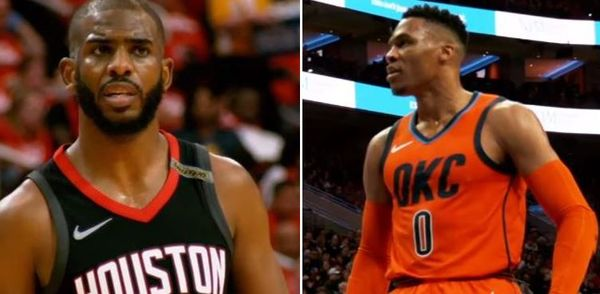 Twitter Reacts To Russell Westbrook Being Traded To the Rockets For Chris Paul