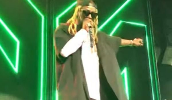 Watch Lil Wayne Cut Set Short on Blink-182 Tour and Threaten To Quit