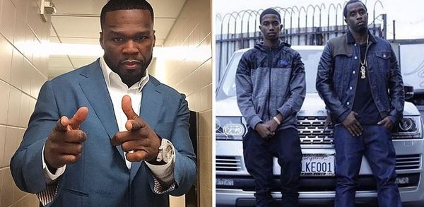 50 Cent Comes For Diddy's Son Over JAY-Z-Like Water Sports Caution