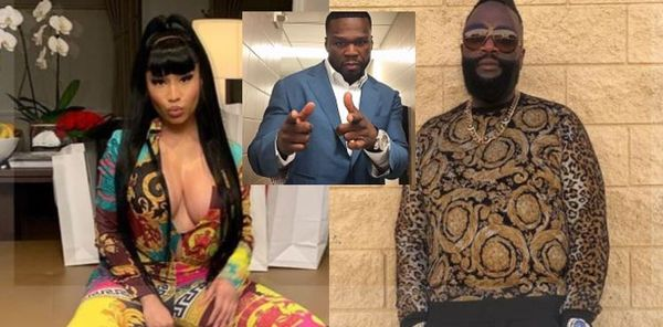 50 Cent Jumps in After Nicki Minaj Comes For Rick Ross