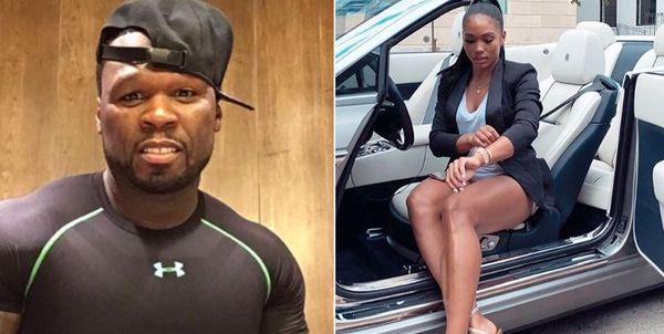 50 Cent's New GF Jamira Haines Shares Photo With 50; Fans Say It's Not 50