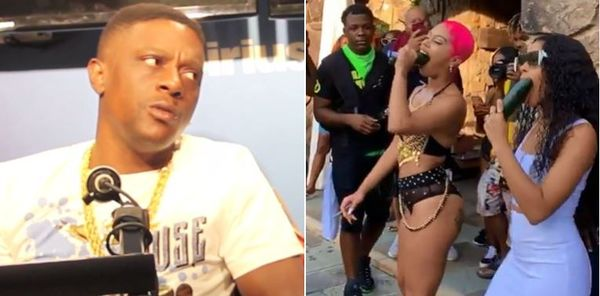 Boosie Badazz Posts Graphic Video Of Alexis Skyy Cucumber Challenge