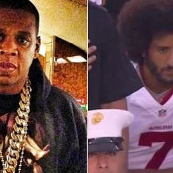 Colin Kaepernick Smacks At JAY-Z For Knocking Kneeling