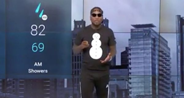 Jeezy Promotes His New Album With Forecast On The Weather Channel