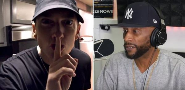 Lord Jamar Responds To Eminem's Threatening Tweet