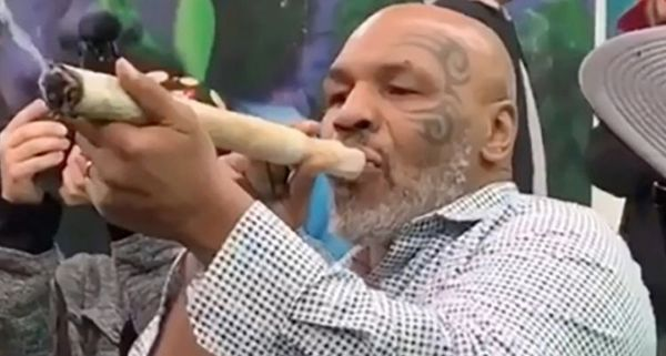 Mike Tyson Reveals How Much He Spends On Weed Per Month