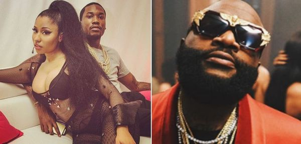 Rick Ross Responds To Nicki Minaj Telling Him to Sit His Fat A$$ Down