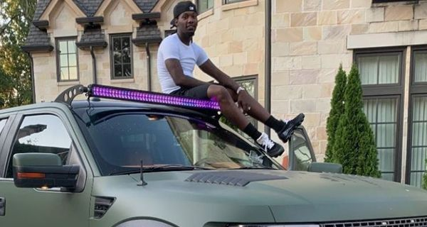 Offset Shows Off His Brand New Custom Ford Raptor Truck