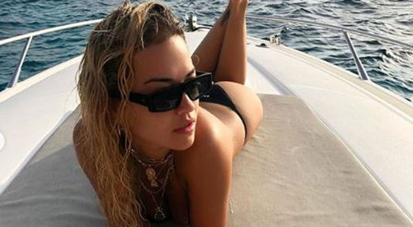 Rita Ora Is Busting Out In Ibiza [PHOTOS]