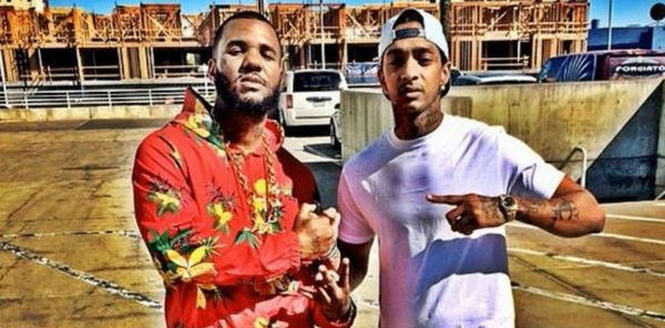 The Game Has A Customized Nipsey Hussle Lamborghini [PHOTO]