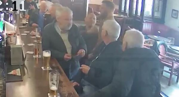Watch Conor McGregor Punch An Old Guy In The Face For Refusing His Whiskey Brand
