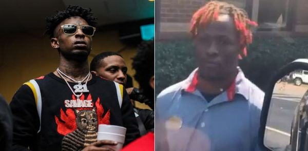21 Savage Mocks Fast Food Worker For Looking Like Lil Yachty [VIDEO]
