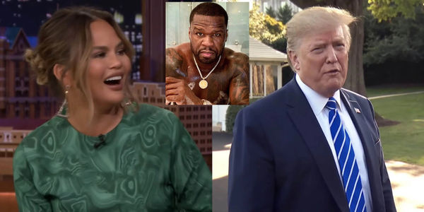 50 Cent Jumps Into Beef Between Donald Trump And Chrissy Teigen