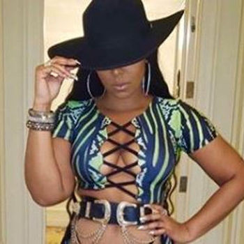 Ashanti Officially Stunts Her Barely There Thong That's Causing All The Chatter
