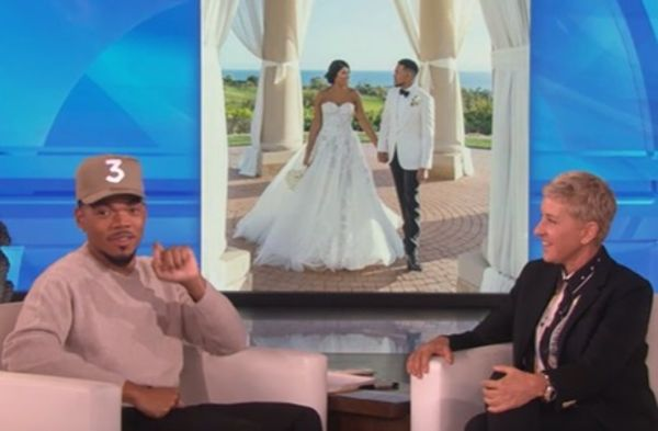 Chance The Rapper Says He Proposed To His Wife At 9 Years Old