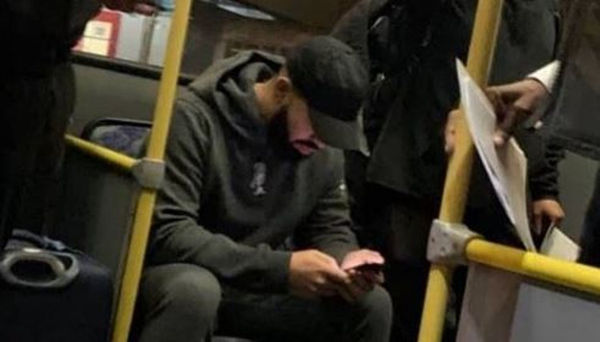 Drake Seen Riding Around On Public Transportation In Brazil