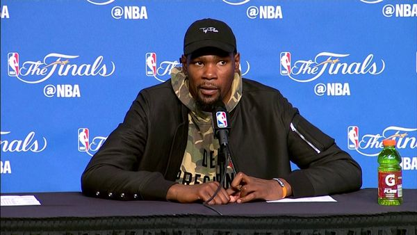 Kevin Durant Answers Question About Who's Better Steph Curry or Russell Westbrook